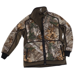 BROWNING GIACCA PILE POWERFLACE REVERSIBILE ZIPPIN VERDE