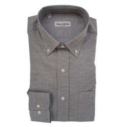 Classic Collection Camicia Maniche Lunghe Oxford Marrone