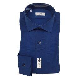 Classic Collection Camicia Maniche Lunghe Slim Blu