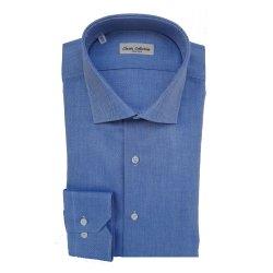 Classic Collection Camicia Maniche Lunghe Oxford Blu