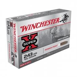 WINCHESTER SUPER X CAL. 243 WIN. GR 100