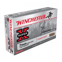 Winchester Super X Cal. 7mm Rem Mag 150gr