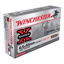 WINCHESTER SWEIDSH CAL. 6.5X55 GR 140