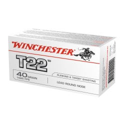WINCHESTER T22 CAL. 22 LR GR 40 LRN 50 LEAD
