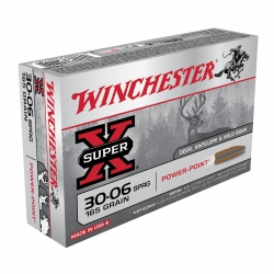 WINCHESTER SUPER X POWER POINT CAL.30-06 165GR