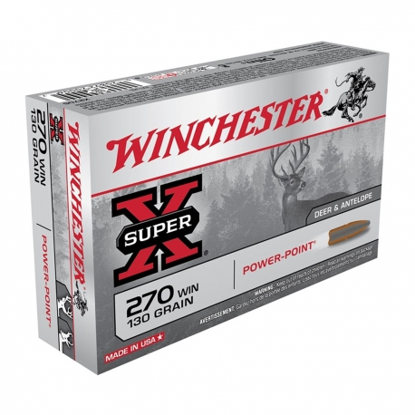 Winchester Super-X Power Point 270W 130gr