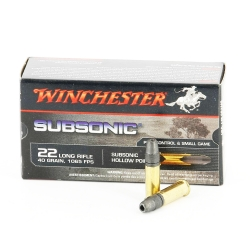 Winchester 22LR Sub. 42gr HP