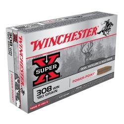 Winchester 308W Super X P.P. 180gr