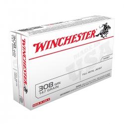 WINCHESTER USA FMJ CAL.308 WIN. 147GR