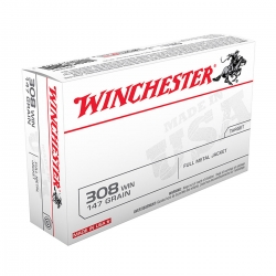 Winchester USA FMJ Cal. 308 Win 147gr