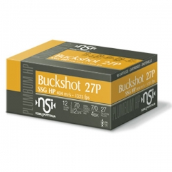 NSI Buckshot SSG 27P HP CAL. 12