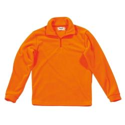 Univers Lupetto Pile Arancione 94570-55