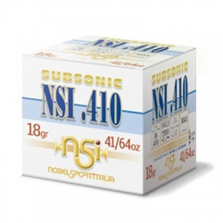 NSI 410 Subsonic Cal. 410 18gr