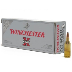 Winchester Super-X Super Short Mag. cal. 223 Soft Point 55gr