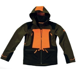 Univers Giacca Orange in Softshell Univers-tex 91090-392