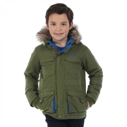 REGATTA GIACCA JUNIOR CAPTON PARKA VERDE