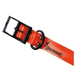 Browning Collare in Biothane alta visibilità Orange 25mm