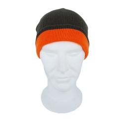 Berretta reversibile Verde/Arancio