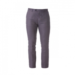 Beretta Man's Country Classic Linen Pants blue