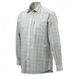 Beretta Camicia Drip Dry Plain Collar bianco e giallo