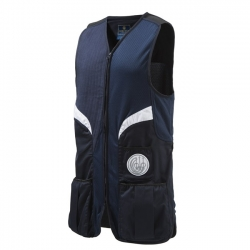 Beretta Gilet da Tiro Stretch Shooting Blue