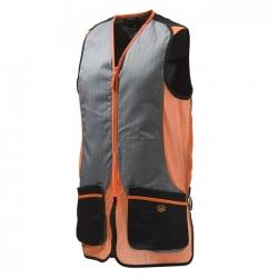 Beretta Gilet da Tiro Silver Pigeon Grigio/Arancione