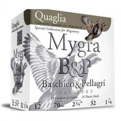 CART.B&P MYGRA QUAGLIA C.12 32GR