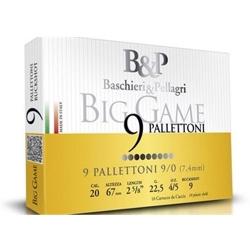 CART.B&P BIG GAME PALLETTONI CAL.20