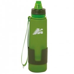 MARSUPIO BORRACCIA MAGIC BOTTLE IN SILICONE VERDE