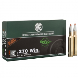 CARIC.RWS c.270 WIN HIT 130GR