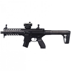 Sig Sauer MPX Black CO2 Cal. 4.5 con Red Dot Libera Vendita