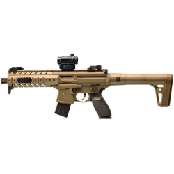 Sig Sauer MPX Desert CO2 Cal. 4.5 con Red Dot Libera Vendita