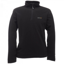 Regatta Pile Thompson Zip Corta Nero