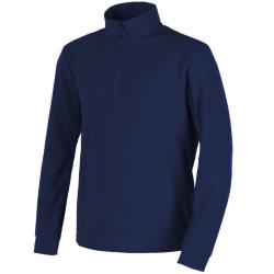 CMP micro pile uomo blu con zip