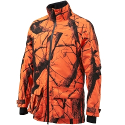 Beretta Giacca Light Static Camo Blaze Orange