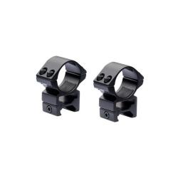 Nikko Anelli 30mm Alti per Weaver/Picatinny