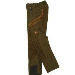 Univers Pantalone Castoro Verde/Arancione Univers-tex 92174 392