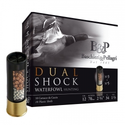 CART.B&P DUAL SHOCK CAL.12 T.4 34 GR