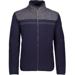CMP Cardigan Arctic Fleece Blu