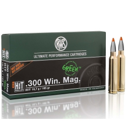 CARIC.RWS C.300 WIN MAG HIT 165GR