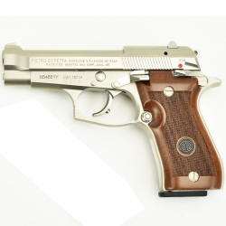 Beretta 85 FS Cheetah Nickel Cal. 9 Corto
