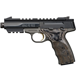 Browning Buckmark Micro Black Label Laminated Threaded Cal. 22LR