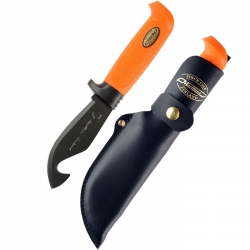 Marttiini Skinning Knife With Hook Orange