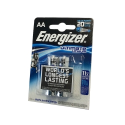 ENERGIZER BATTERIA STILO ULTIMATE LITIO AA