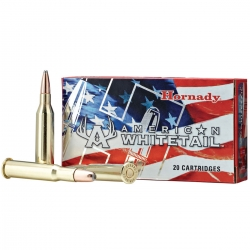 Hornady American Whitetail Cal. 6.5 Creedmoor 129gr