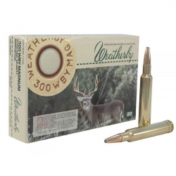 CARIC.WEATHERBY CAL.300 WBY 180GR SP