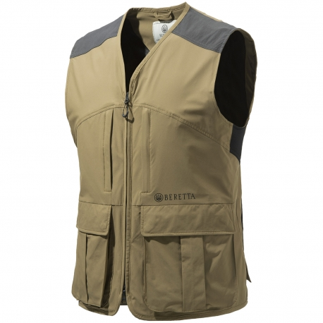 GILET BERETTA HI-DRY HUNTING BROWN