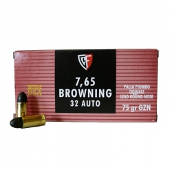 Fiocchi LRNGZN Cal. 7.65 Browning 75gr