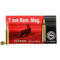Geco Express Cal. 7mm Rem Mag 155gr