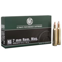 RWS Kegelspitz Cal. 7mm Rem Mag 162gr